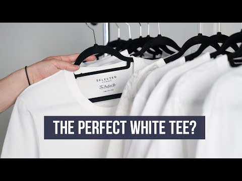 What's The Best White T-Shirt For You? | H&M, Uniqlo, COS, Urban Outfitters?