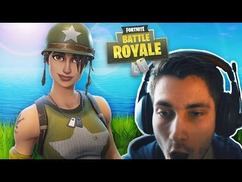 PLAYING NEW Fortnite: Battle Royale for the FIRST TIME !