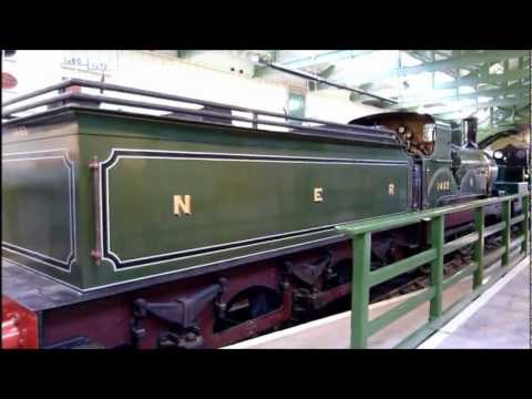 North Road Station And The Head Of Steam Darlington Railway Museum.wmv