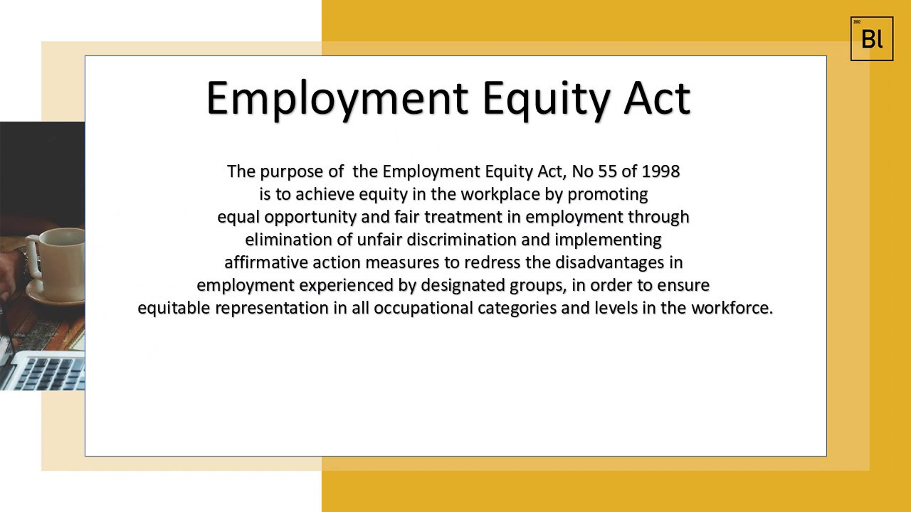 Employment Equity Act - Business Compliance South Africa - YouTube