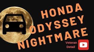 Detailing a Honda Odyssey Nightmare