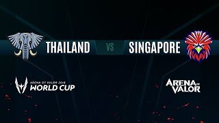 TH vs SG | Group Stage Day 2 | AWC 2018