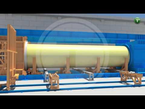 Technobell CFW production line - 3D