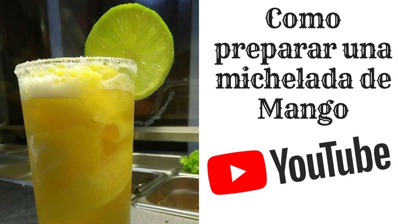 Michelada De Mango