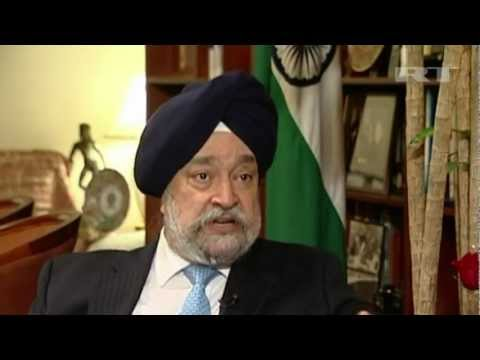 Hardeep Puri: UN cannot solve Syria conflict by taking sides