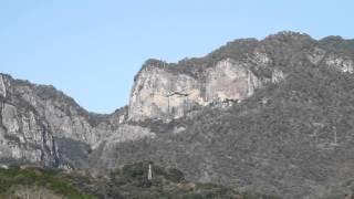 宮崎県 行縢の滝 その3 行縢山の全景