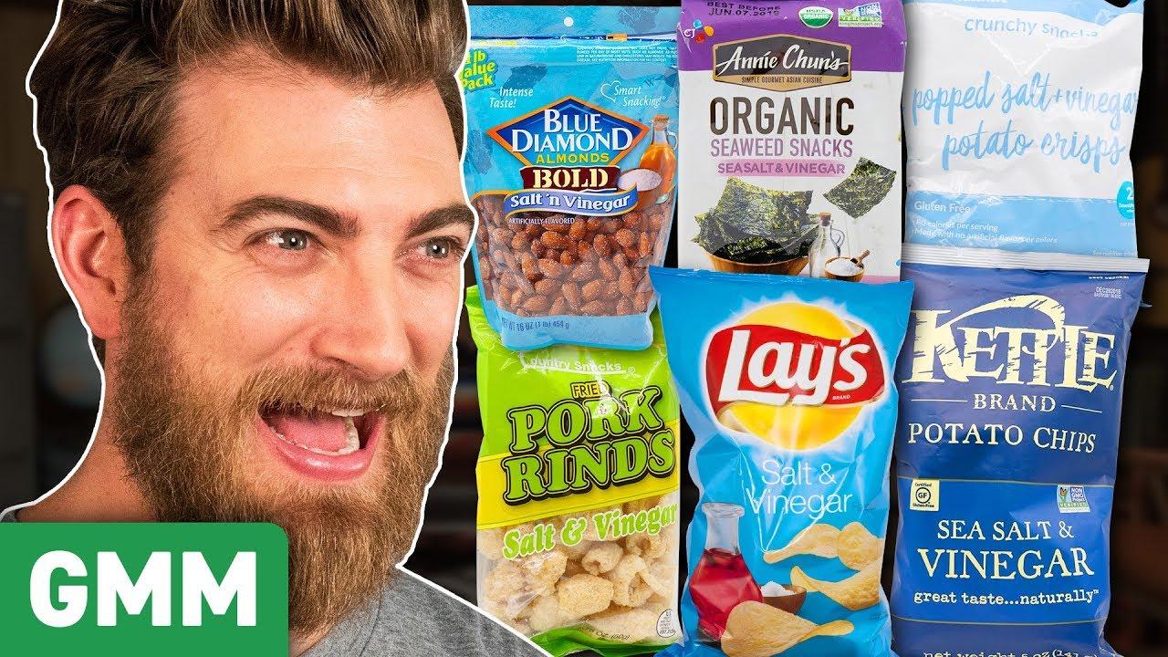 Salt & Vinegar Snack Taste Test