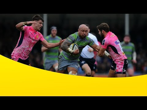 Exeter Chiefs v Newcastle Falcons - Anglo Welsh Cup 2017-18