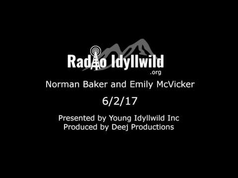 Norman Baker and Emily McVickers Live on Radio Idyllwild