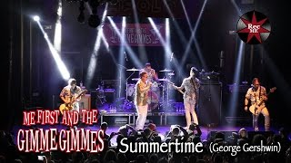 "Me First and The Gimme Gimmes ""Summertime"" (George Gershwin)@ Sala Apolo (10/02/2017) Barcelona"
