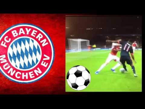 Douglas Costa Vs Hector Berellin - INCREDIBLE SKILL - Arsenal vs Bayern München