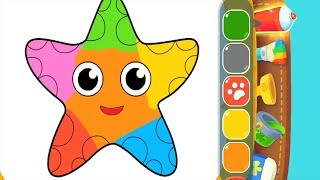 Fun Coloring Kids Game With Magic Pen, Learn Colors - Children Gameplay Video