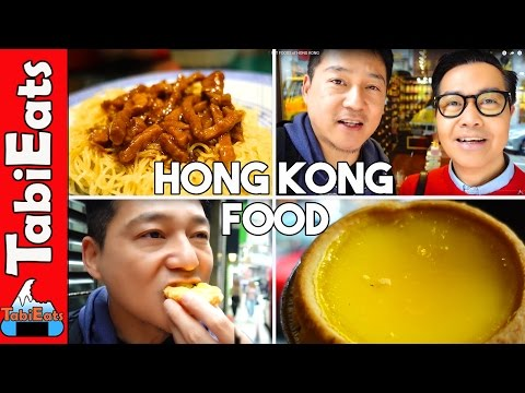 MUST EAT FOODS of HONG KONG