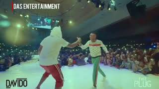WIZKID IS MY NEW BEST FRIEND Davido bring out Wizkid and Mohits at the 30BillionConcert