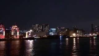 Tokyo Night View. Tokyo Bay Night Cruise. Japan night view Time-lapse