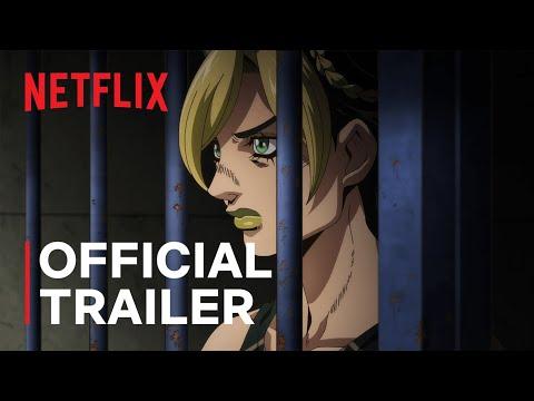JoJo's Bizarre Adventure STONE OCEAN | Official Trailer | Netflix