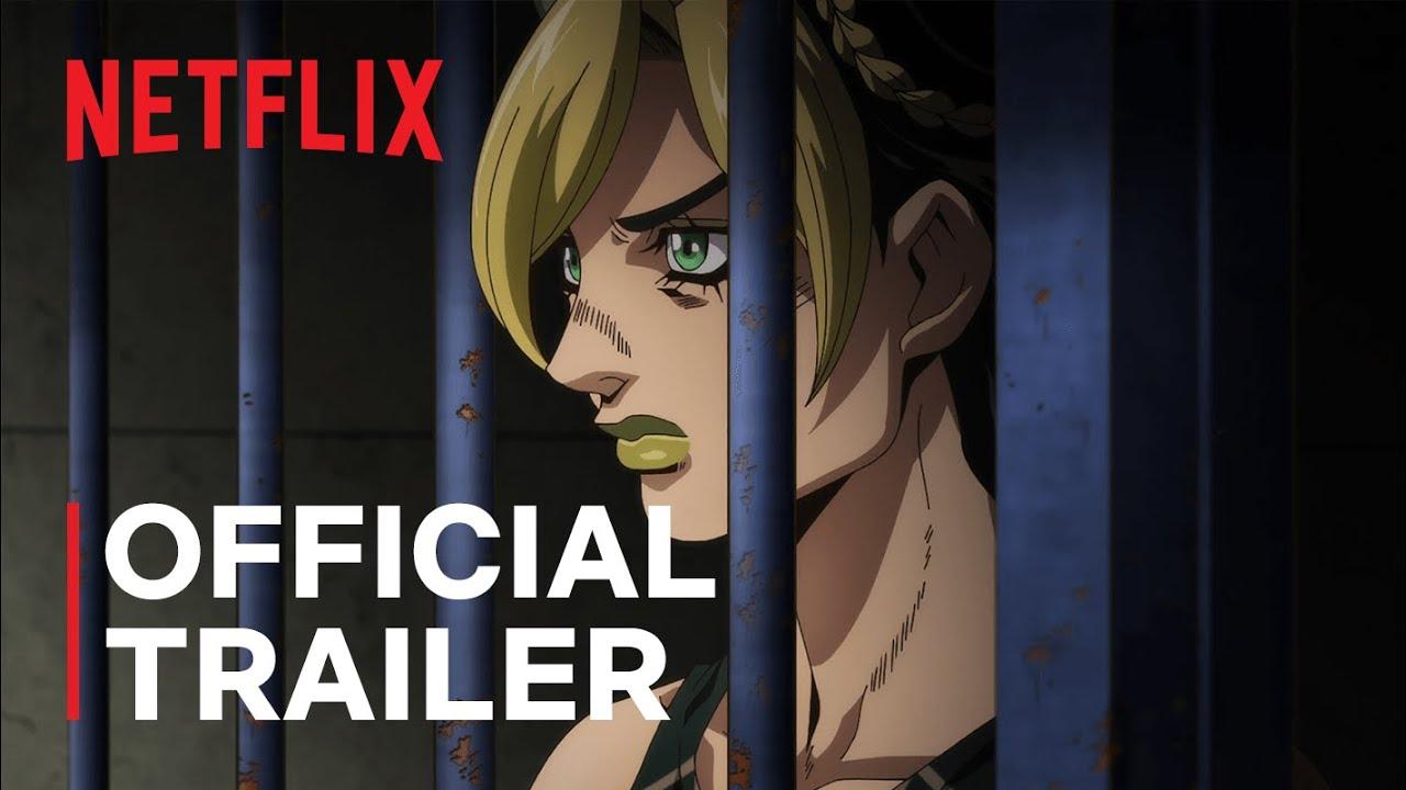 Download JoJo's Bizarre Adventure STONE OCEAN | Official Trailer | Netflix