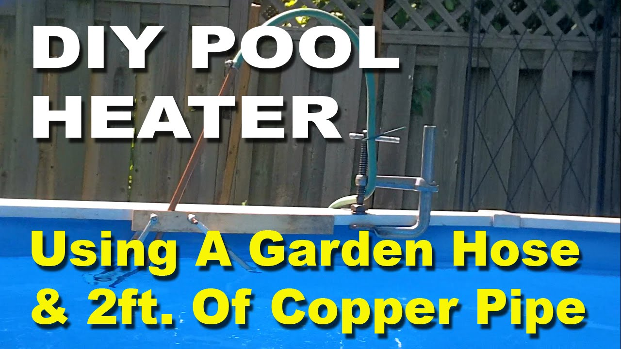 Diy solar pool heater youtube - How to warm up swimming pool water ...