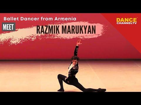 Meet Razmik Marukyan ballet dancer from Armenia