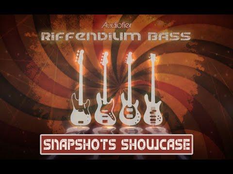 Audiofier RIFFENDIUM BASS Vol 1 (Funky/Soul) SNAPSHOTS SHOWCASE