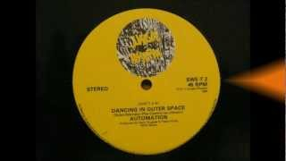 "AUTOMATION - Dancing in Outer Space - 12"" 1984 Jazz Funk Electro Rare 80s Groove"