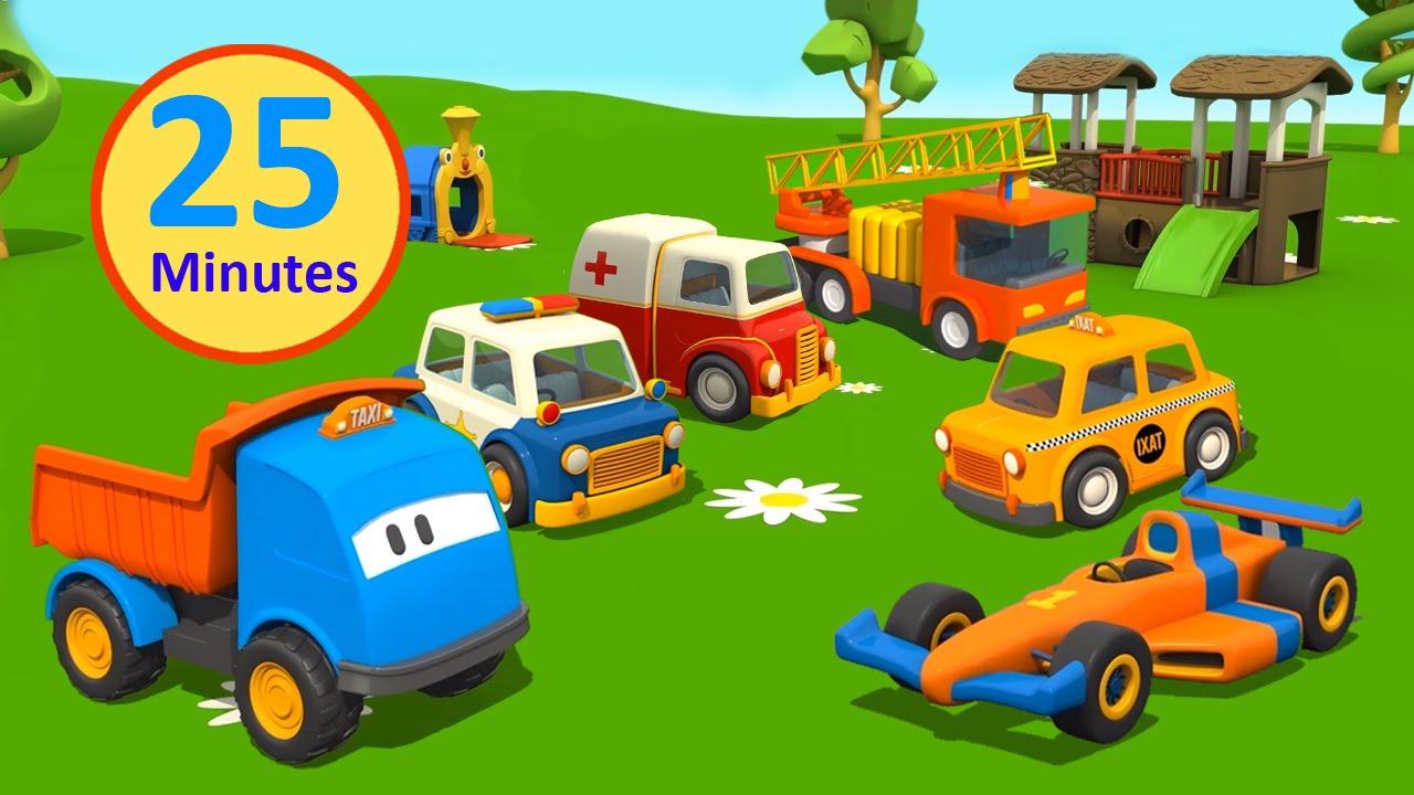 Compilation cartoni animati per bambini leo il camion