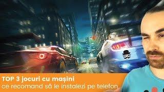 TOP 3 jocuri cu masini pentru Android si iOS