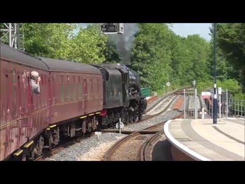 "Wakefield Kirkgate to Scarborough, ""The Scarborough Spa Express"" 37668 + 37685 & Steam"