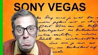 Текст, написанный от руки в Sony Vegas. Как сделать красивый текст в Сони Вегас. Уроки видеомонтажа.(В этом уроке я показал,как в программе Sony Vegas Pro13 написать текст от руки с помощью маски. В сегодняшнем уроке..., 2016-04-20T22:37:31.000Z)