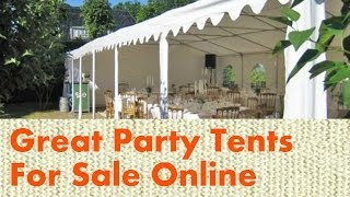 18 Great Party Tents For Sale Online