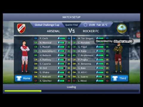 Dream League Soccer Rocker FC vs Arsenal 4-0 DLS17