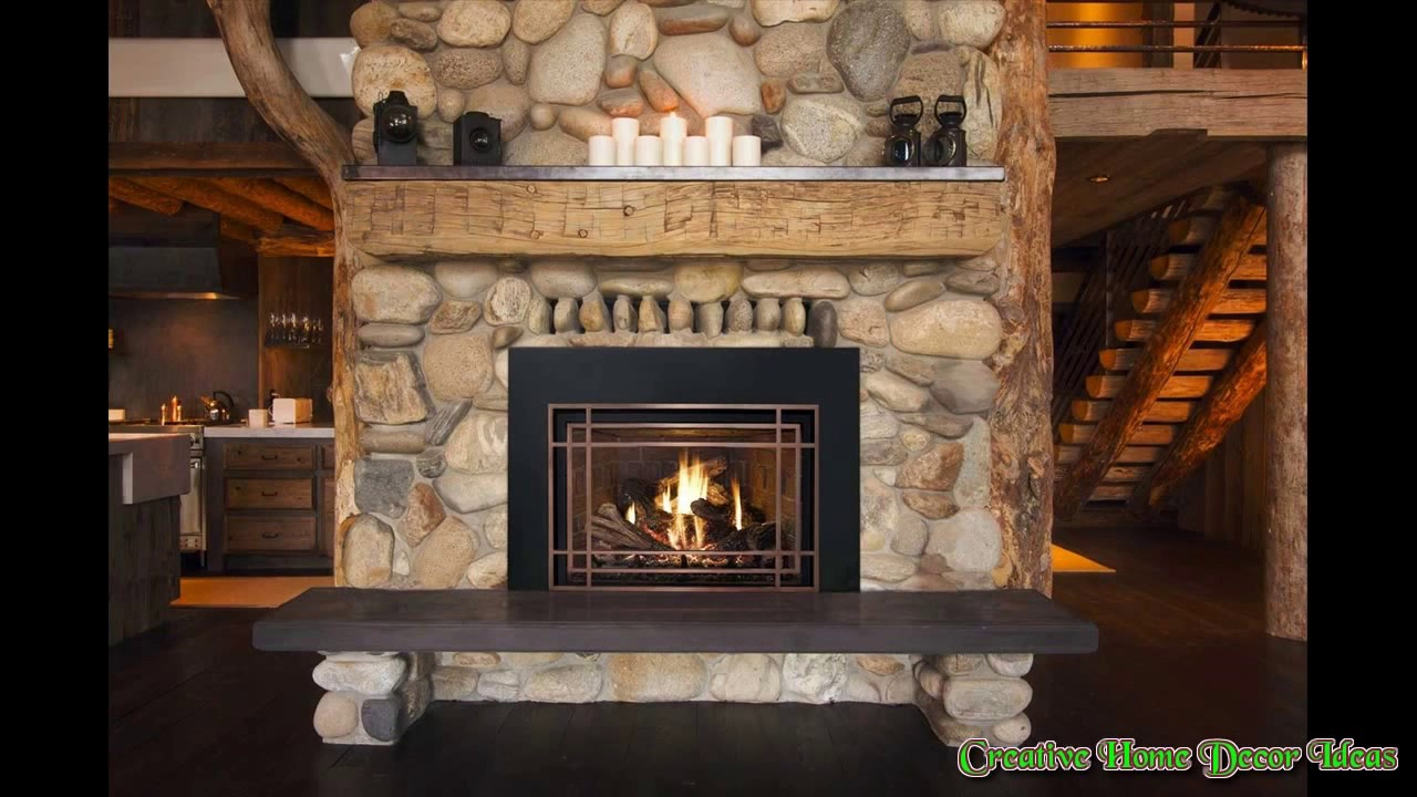 Metal Fireplace Frame Ideas - YouTube