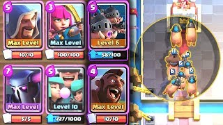 WILL A 5X HOG DECK WORK?? Clash Royale Hogs | Nickatnyte