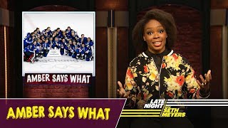 Amber Says What: The Winter Olympics