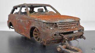 Restoration Abandoned Range Rover Model Car