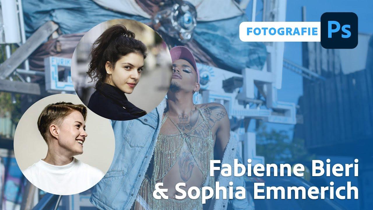 Retusche mit Fabienne Bieri und Sophia Emmerich |Adobe Live