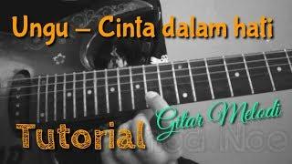 Gambar cover Tutorial Gitar Melodi | Ungu - disini untukmu | by innod noe