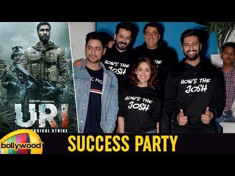 Vicky Kausha, Yami Gautam & Farah Khan | URI Success Party | Aditya Dhar | Mango Bollywood