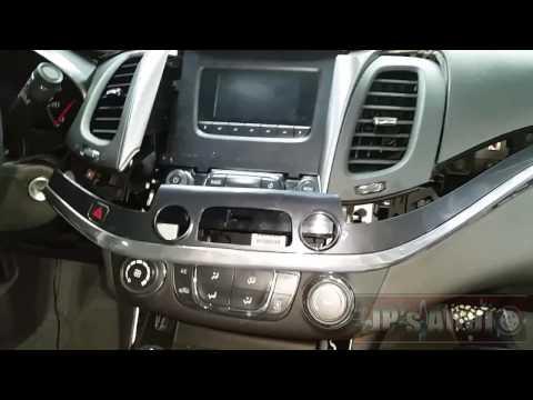 2017 Chevy impala full dash breakdown | radio removal
