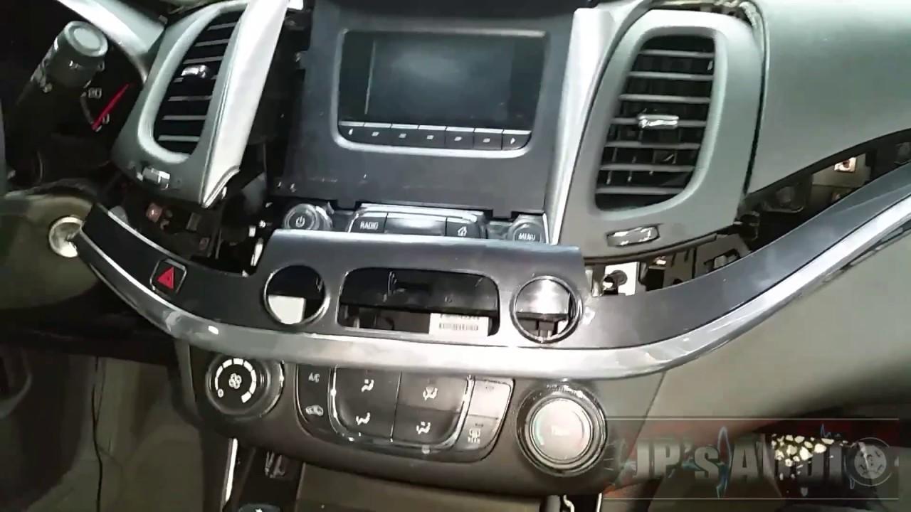 2017 Chevy Impala Full Dash Breakdown Radio Removal Youtube 2014 Malibu Wiring Diagram