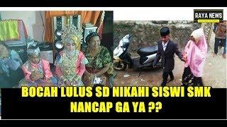 Viral ! Pernikahan Dini Bocah Tamat SD Dengan Gadis SMK di Kabupaten Bantaeng