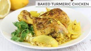 Baked Turmeric Chicken Recipe Easy Chicken Recipe