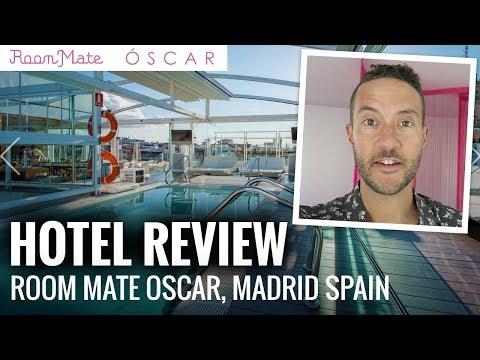 HOTEL ROOM REVIEW: Room Mate Oscar Madrid, Spain