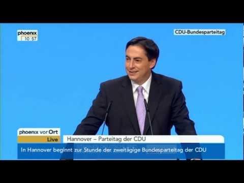 Bundesparteitag der CDU: Rede von David McAllister am 4.12.2012