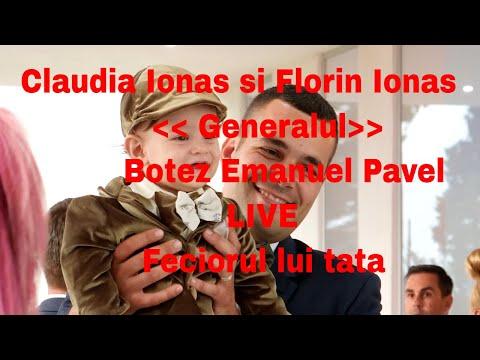 Claudia Ionas si Florin Ionas Generalul // 2018 // Botez Emanuel Pavel // Feciorul lui tata //