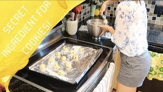 Cook, Clean, & Chill With Me!  Secret Cookie Ingredient + New Baby!