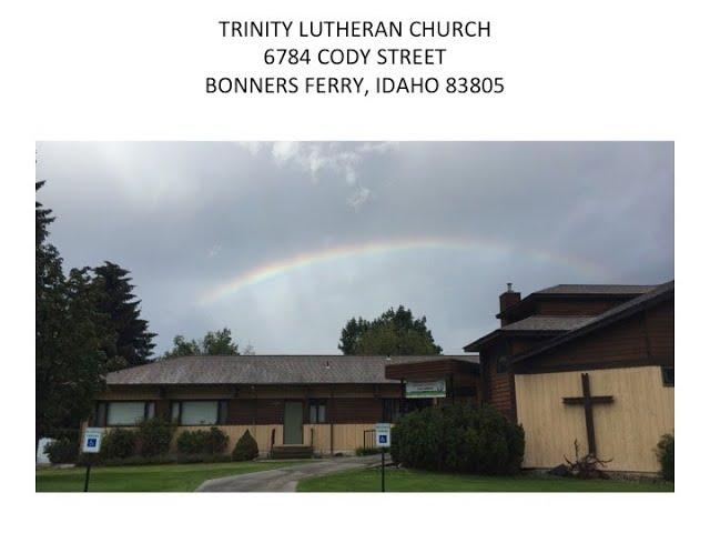 Eighth Sunday after Pentecost Worship Service