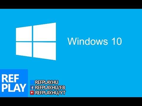 Windows 10 letöltése ingyen   TECH TIPPEK   REFPLAY.HU videó letöltés
