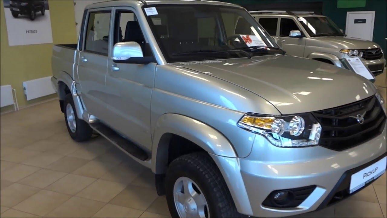 УАЗ Pickup 2015. Обзор, цены, комплектации, характеристики