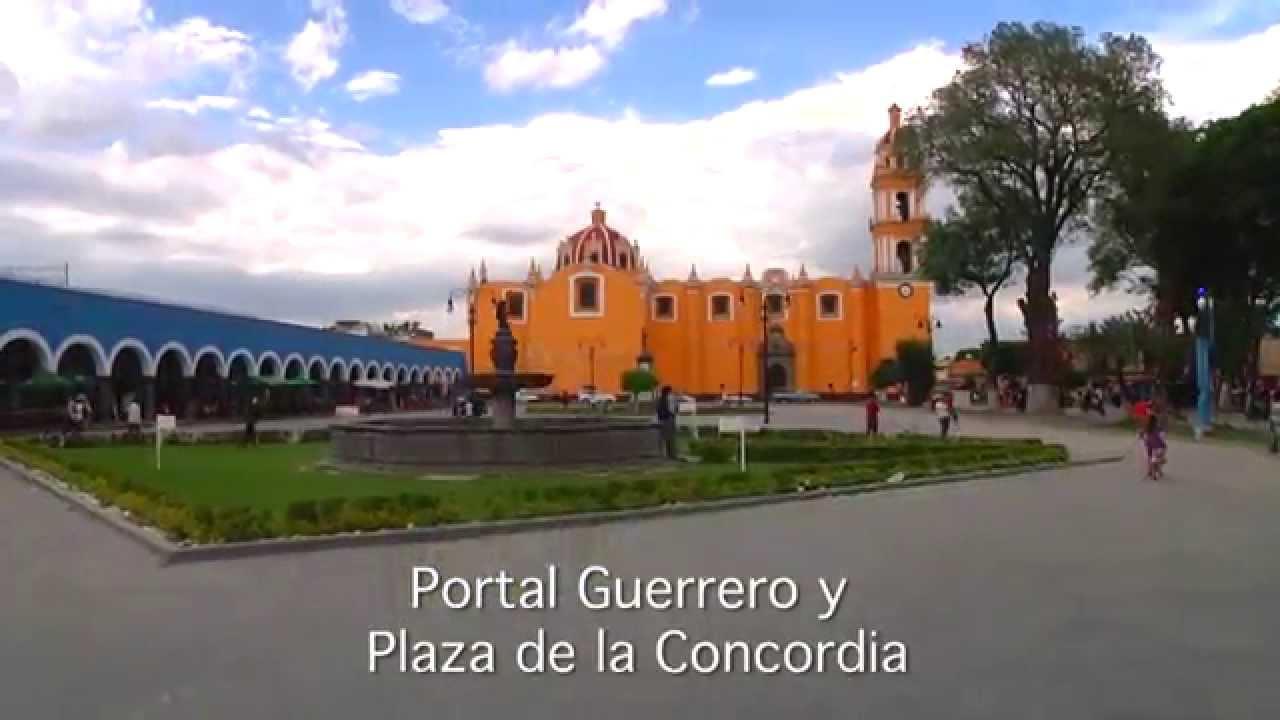 Plaza De La Concordia portal y plaza de la concordia de san pedro cholula
